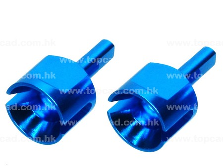 Alloy Gearbox Joint / (2) for TT02
