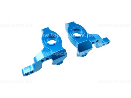Alloy Front Steering Block / (2) for XV-01