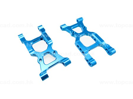 Alloy Rear Lower Arm / (2) for XV-01