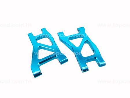 Alloy Rear Lower Arm / (2) for DT-03