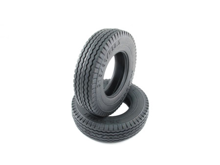 Rubber Tire for Tractor Truck (2) Medium Compound