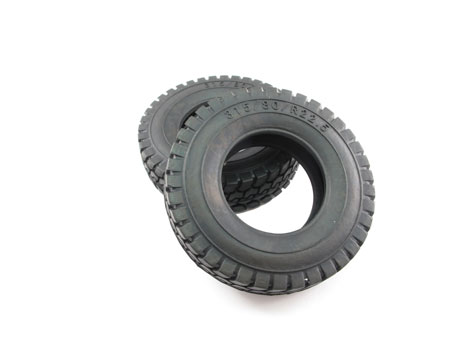 Rubber Tire for Tractor Truck (2) All Terrain