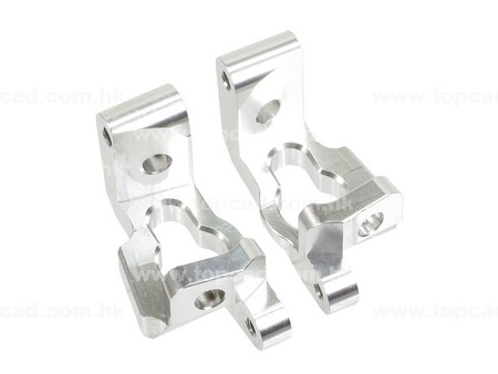 Alloy Front Hub Carriers (2) for Bullet MT