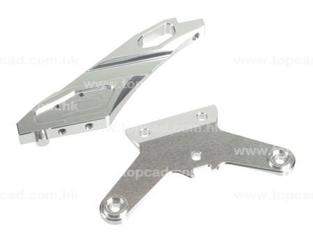 Alloy Front Chassis Brace Set for Bullet MT