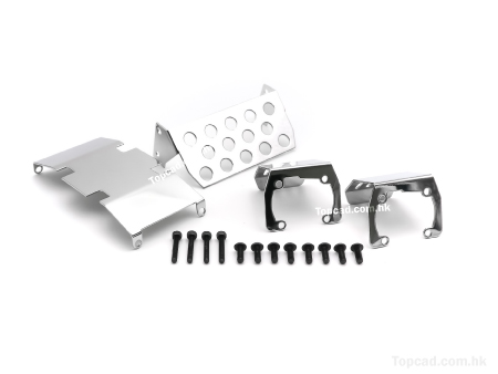 S.Steel Protection set for SCX10 (4)