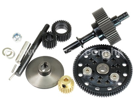 HD Gear set for Axial Wraith