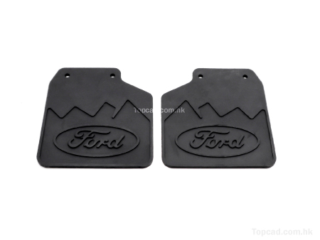 Mud Plates for TRX4 / Ford