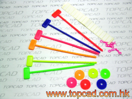 Color Stick for Tires & Wheels (6pcs)