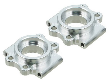 Alloy Rear Hub Carrier Adapter (2) for 1/5 Baja or KM Baja