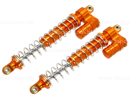 Super HD Alloy Front Damper Set (2) for 5B or 5T
