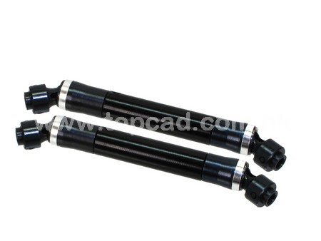 HD Universal Carbon Case Drive Shaft (2) for Axial Wraith