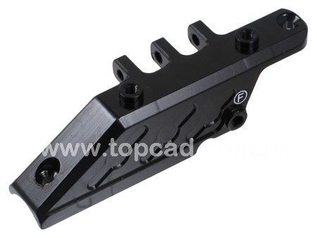 Alloy Front Offset Axle Link Mount for Axial Wraith