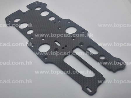 100% Carbon Radio Plate for Optima