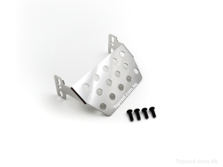 S.Steel Front Skid Plate version 2 for TRX4